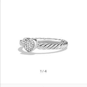 Yurman cable collectibles Heart Ring diamond 5